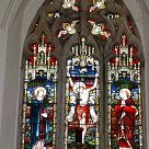 East window above the altar