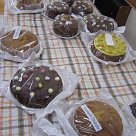 Connie's Easter cake stall